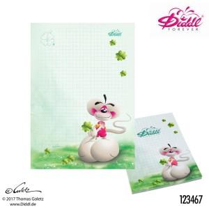 Karteczki A6 Diddl