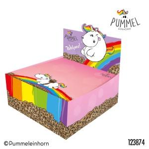 Karteczki w pudełku Jednorożec Pummel