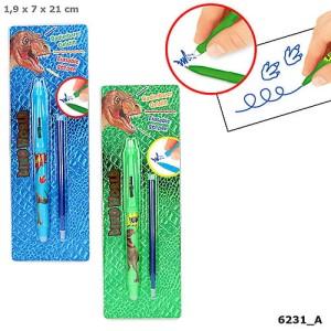 Długopis ścieralny Dino World