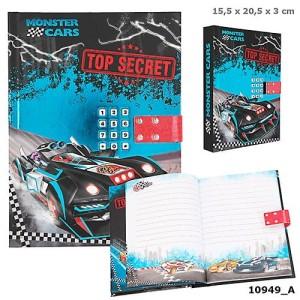 Pamiętnik na kod Monster Cars