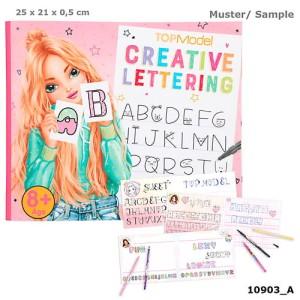 Zestaw Creative Lettering Top Model