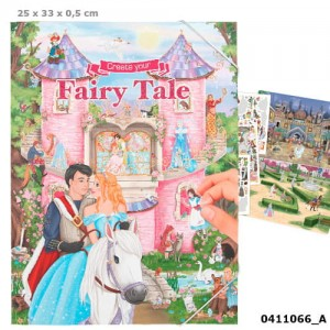Zestaw z naklejkami Fairy Tale