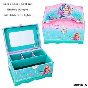 Szkatułka z podświetlanym lusterkiem TOPModel  Mermaid
