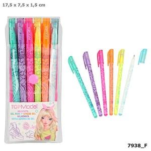 Długopisy żelowe NEON TOPModel