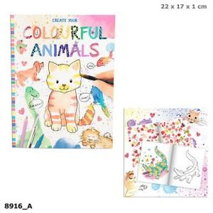 Zestaw kreatywny Colourful Animals