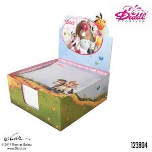 Karteczki w pudełku Myszka Diddl