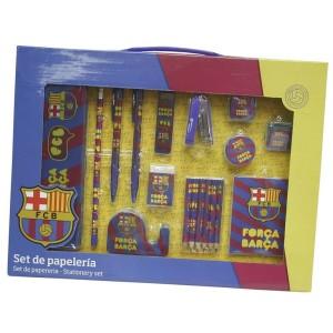 Zestaw papierniczy FC Barcelona
